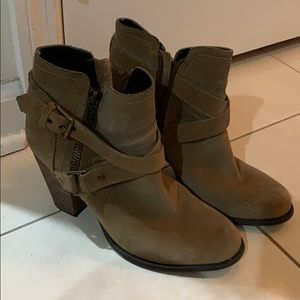 Guess brown booties